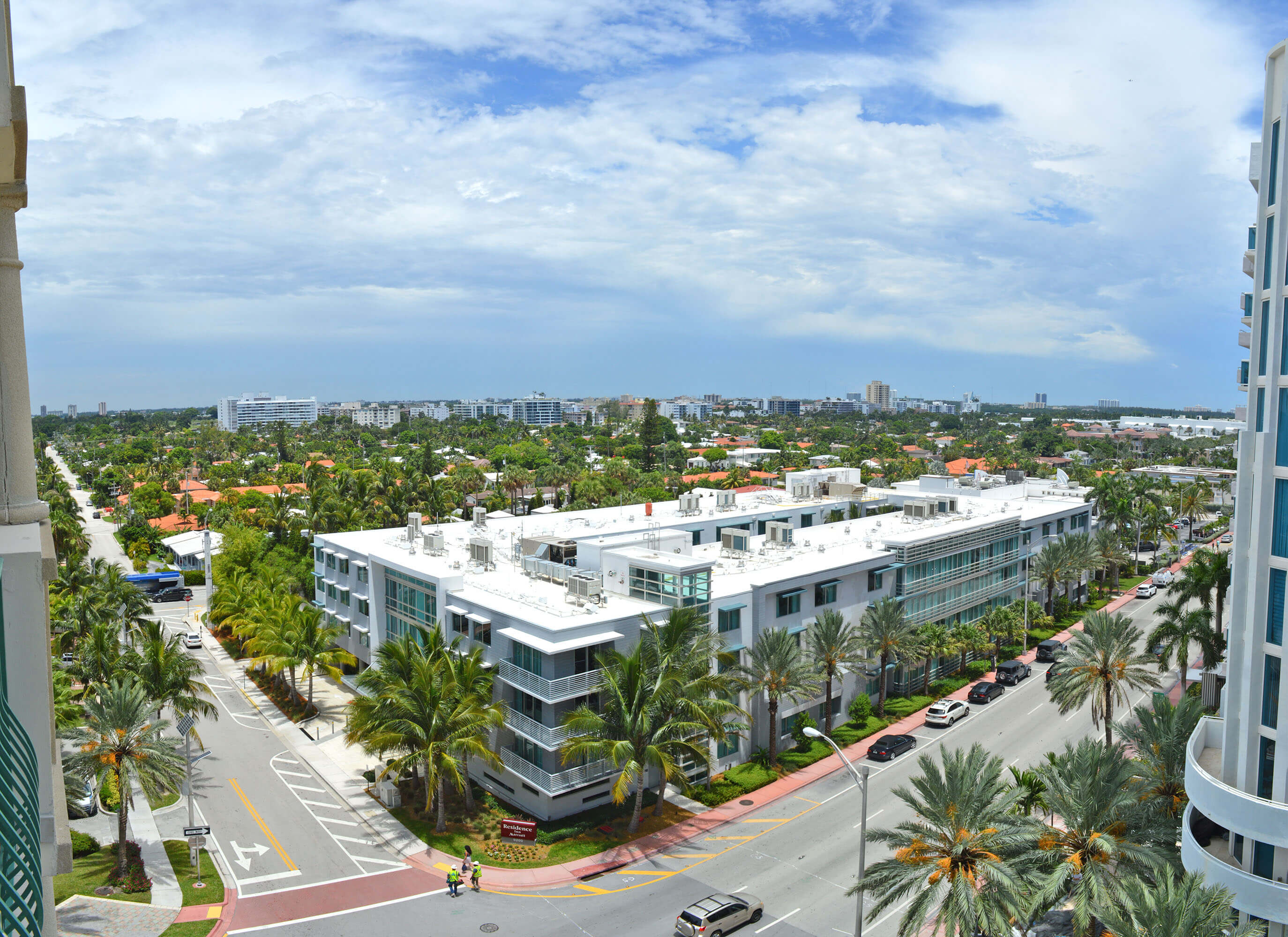 9195 Collins Avenue, Unit 1013 Surfside FL 33154 - West View