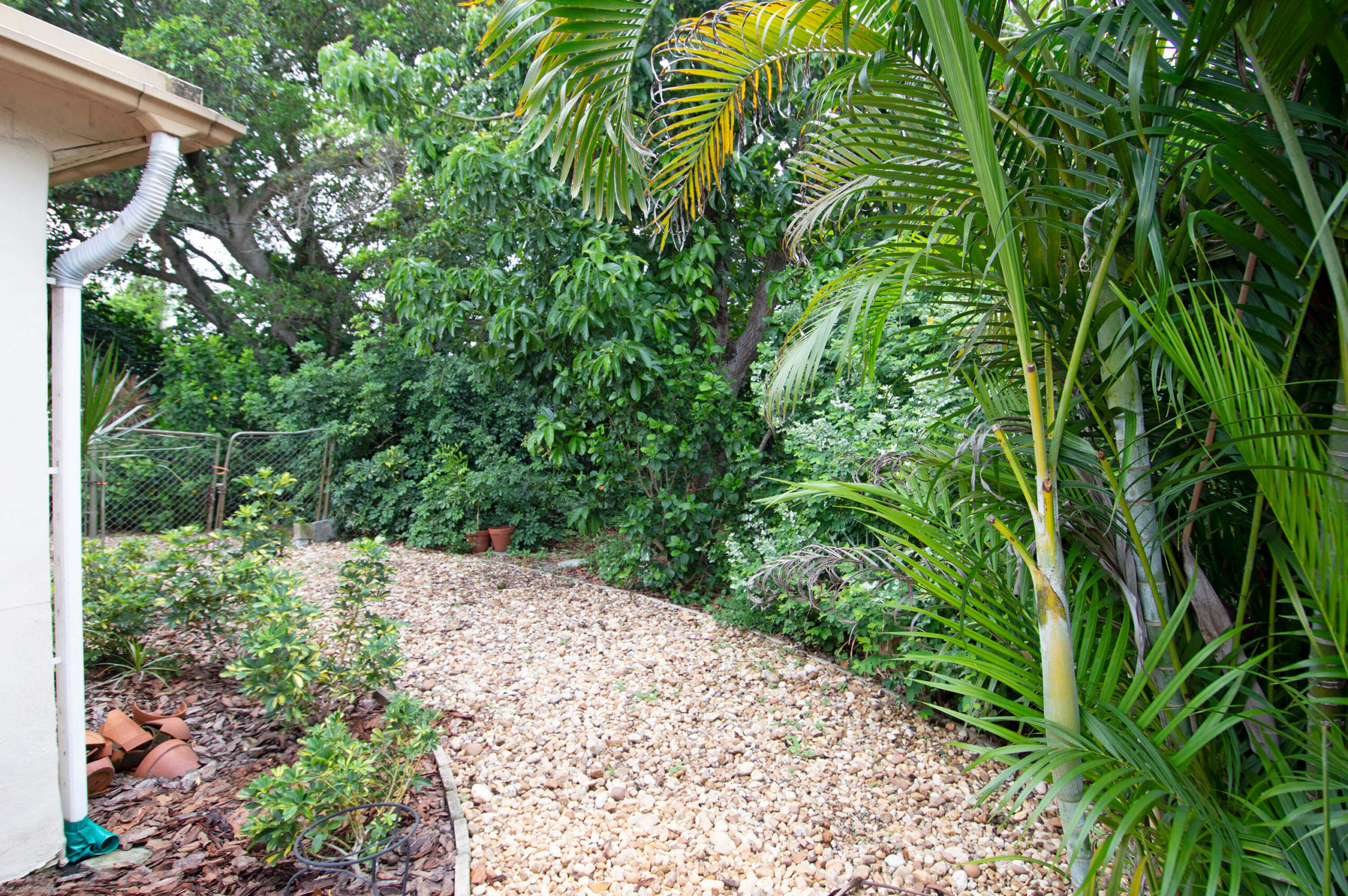 Backyard and Fence for 1211-1215 NE 15th Avenue, Fort Lauderdale FL 33304
